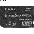 Memory Stick Pro Duo Card Sony MSMT4GN  4 GB