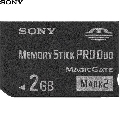 Memory Stick Pro Duo Card Sony MSMT2GN  2 GB