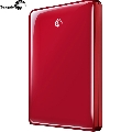 HDD extern Seagate FreeAgent Go Flex  500 GB  USB 2  Red