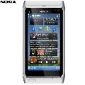 Telefon mobil Nokia N8 White-Silver