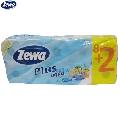Hartie igienica 2 straturi Zewa Plus Aqua 10 role