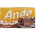 Bomboane cu crema de cacao Anda 135 gr