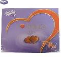 Praline de ciocolata cu crema de capsuni I Love Milka 120 gr