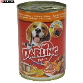 Hrana umeda pentru caini Purina Darling pui si curcan 1.2 kg