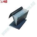 Servieta extensibila Veloflex  A4  12 separatoare  index  elastic  negru