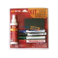 Kit flipchart burete + 4 markere + spray curatare