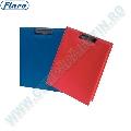 Clipboard dublu Flaro  A4  PVC buzunar