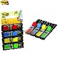 Index Post-it format mic  12 x 43 mm  4 culori  35 file/culoare