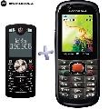 Telefon mobil Motorola VE538 Black + Motorola F3 Black