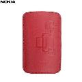 Husa piele Nokia CP-342 R  rosu