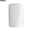 Husa piele Nokia CP-342 W  alb