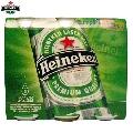 Bere Heineken Pack 6 doze x 0.5 L