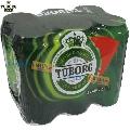 Bere Tuborg 6 doze x 0.5 L