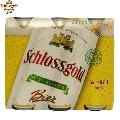 Bere fara alcool Schlossgold Pack 6 doze x 0.5 L