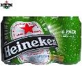 Bere Heineken Pack 6 doze x 0.33 L