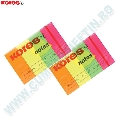 Index Kores  20 x 50 mm  4 culori fluorescente  50 file/culoare