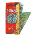 Harta Romania turistica  pliata  70 x 100 cm