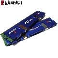 Memorie PC DDR 2 Kingston HyperX  2 GB  800 MHz  CL4  Kit 2 module
