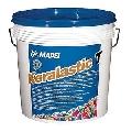 Adeziv elastic si impermeabil pentru gresie faianta piatra naturala Mapei 10kg/cutie Keralastic T Alb