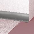 Profil Plinta Flexibila Gri Deschis pentru covor PVC si linoleum