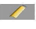Profil de trecere din aluminiu rotunjit - Argintiu