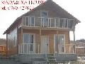 Casa din lemn - model Baia Mare tel.0760-427621