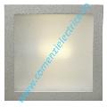 Aplica incastrabila iluminare scari GLENN, E27 1x60W, Corp de iluminat