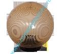 Corp de iluminat glob fumuriu 25CM+soclu