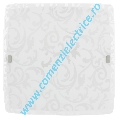 Plafoniera SCALEA 1 alb, E27 2x60W (90045)