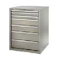 Tecnolam Casetiera metalica cu 4 sertare `Work 4`