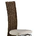 Scaun sufragerie / bucatarie HEIKE - cu spatar din impletitura