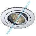 Plafoniera TRIA II downlight aluminium crom MR16