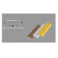 Profil de protective din aluminiu 23/F 64007 PROF AL.ARG 2,7ML/BUC