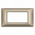 Rama ornament 4 module Metal bronz metalizat