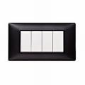 Rama ornament 4 module Tehnopolimer negru
