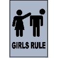 Girls Rule (30 x 45 cm)