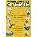 Stewie s wisdom (30 x 45 cm)
