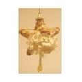 Glob Santa Claus gold 056915