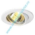 Plafoniera GU10 SP downlight alb