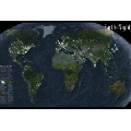 Earth at Night (91 x 61 cm)