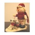 Figurina muzicala om de zapada cu catel 056760