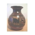 Vaza Florero Cusqueño Rojizo mica