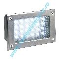 Aplica de exterior BRICK LED 24 alb