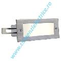 BRICK LED 16 otel inoxidabil alb LED