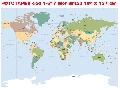 Fototapet KOMAR cod 1-617 Worldmap