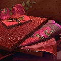Garnitura de pat Delice chocolate