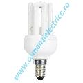 Bec fluorescent compact 4U MINI XEU48-11X E14/K