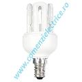 Bec fluorescent compact 4U MINI XEU48-9X E14/K