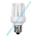 Bec fluorescent compact 4U XEU48-11U E27/K