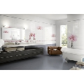 Faianta pentru baie si bucatarie Tresor Bianco 25x76 cm